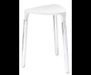 Yannis 217202 kúpeľňová stolička, 37x43,5x32,3 cm, biela