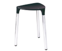 Yannis 217214 kúpeľňová stolička, 37x43,5x32,3 cm, čierna