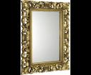 Scule IN316 zrkadlo v ráme, 80x120 cm, zlatá Antique