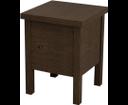 Brand BA121 stolička s úložným priestorom 35x46x35cm, morený smrek