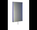 Tolosa NL623 zrkadlo s LED osvetlením 50x80 cm, chróm