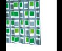 Up Down 42935 sprchový záves 180x200cm, textil, zelený