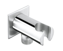 Sapho AQ615 držiak sprchy, oválny, s prívodom vody,chróm