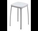 Paride 517202 kúpeľňová stolička, 29x46,2x29 cm, biela