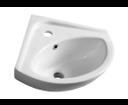 Luigi FS161 keramické umývadlo rohové 34x34cm
