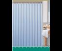 Aqualine 0201103 M sprchový záves 180x180cm,100% polyester, modrý