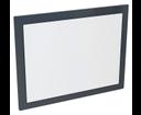 Mitra MT192 zrkadlo v ráme 72x52x4 cm, antracit