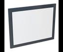 Mitra MT182 zrkadlo v ráme 92x72x4 cm, antracit