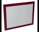 Mitra MT183 zrkadlo v ráme 92x72x4 cm, bordó