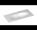Sistema X 10SX51101 keramické umývadlo 100x51cm, biele