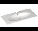 Sistema X 10SX50121 keramické umývadlo 120x51cm, biele