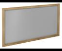 Larita LA126 zrkadlo 120x75x2 cm, dub natural