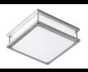 Resaro AU571 stropné svietidlo 2x15W, E14 230V, nikel mat