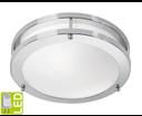 Taby AU594 stropné LED svietidlo 9W, 230V, chróm