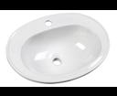 Sara FS1630 keramické umývadlo 54x41, zápustné