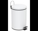 Simple Line 28103 odpadkový kôš guľatý 3l, biely