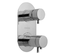 Rhapsody 5585T podomietková vaňová termostatická batéria, 2 výstupy, chróm