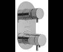 Rhapsody 5592T podomietková vaňová termostatická batéria, 3 výstupy, chróm