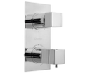 Latus 1102-92 podomietková vaňová termostatická batéria, 3 výstupy, chróm