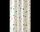 Aqualine ZP007 sprchový záves 180x200cm, polyester, kvetovaný