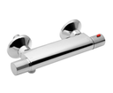 Action MB155 nástenná sprchová termostatická batéria, chróm