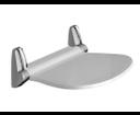 Sound 2282 kúpeľňové sedátko 38,5x35,4cm, sklopné, biela/chróm