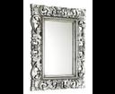 Samblung IN115 zrkadlo v ráme, 60x80 cm, strieborná Antique