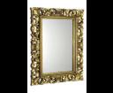 Scule IN163 zrkadlo v ráme, 70x100 cm, zlatá Antique