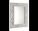 Scule IN171 zrkadlo v ráme, 70x100 cm biela Antique