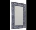 Ubud IN231 zrkadlo v ráme, 70x100 cm, šedé