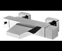 Latus 1102-23 nástenná vaňová termostatická batéria, kaskáda, chróm
