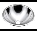 Sapho 13029.B zápustné umývadlo nerezové, priemer 355 mm