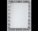Synthia SH625 zrkadlo v ráme, 62,5x82,5 cm, strieborné