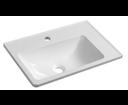 Arana AN056 umývadlo 56x11x35cm, liaty mramor, biele, pravé