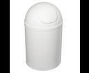 Aqualine 20309 odpadkový kôš výklopný, 5 l, plast, biely