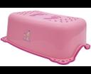 Aqualine 3196 detské protišmykové stúpadlo do kúpeľne Zebra, ružové