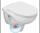 Riga RG203 závesné WC, rimless