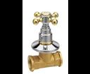 Reitano Antea 3052C podomietkový ventil, studená, chróm/zlato