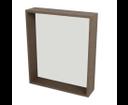 Riwa RW612 policové zrkadlo 60x70x15 cm, borovica rustik