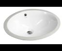 Sapho TP211 keramické umývadlo 48,5x38cm, pod dosku
