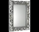 Scule IN308 zrkadlo v ráme, 80x120 cm, strieborná Antique