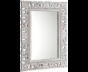 Scule IN324 zrkadlo v ráme, 80x120 cm, biela Antique