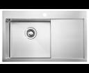 Kiva EP829L nerezový drez 79x48x20 cm, ľavé prevedenie