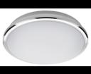 Silver AU463 stropné LED svietidlo 10W, 230V, priemer 28 cm, studená biela, chróm