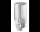 Aqualine 72027 dávkovač tekutého mydla na zavesenie 350ml, biely