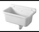Aqualine PI5055 závesná výlevka 55x34cm, plast, biela