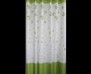Aqualine 16477 sprchový záves 180x180cm, 100% polyester, biely/zelený