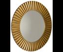 Pride PD904 zrkadlo v ráme, priemer 90cm, bronz