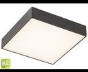 Risa LS030C stropné LED svietidlo 10W, 230V, 28x28 cm, čierne