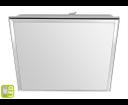 Silver AU464 stropné LED svietidlo 10W, 230V, 28x28 cm, studená biela, chróm